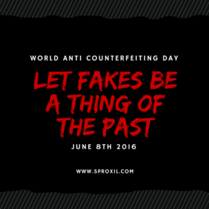 World anti counterfeiting day sproxil