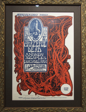 Artist: Stanley Mouse & Alton Kelley, 1966 The Old Cheese Factory Bands: Grateful Dead, Andrew Staples