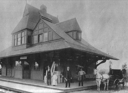 Historic Douglaston Station
