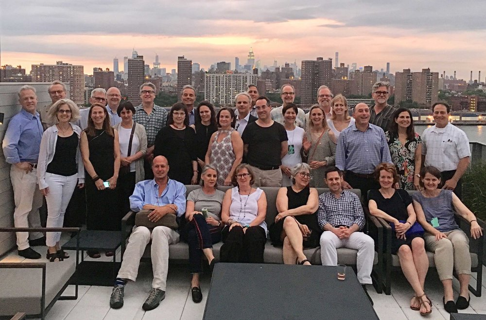 Class of '88—Now: We gather with all of Manhattan as a backdrop. Older and definitely wiser!