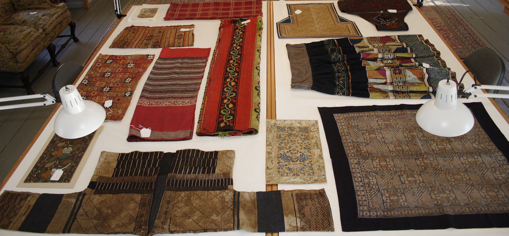Textiles treated represent a diversity of cultures, regions and historical time periods.