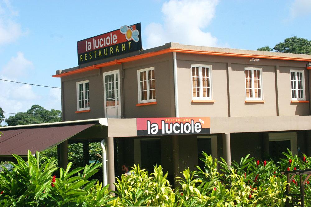 La Luciole - Restaurant du jardin