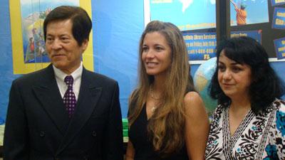 Dr. Henry Chang, Gina Vivona, Siran Aytayan