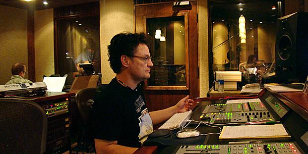 Michael in the Studio