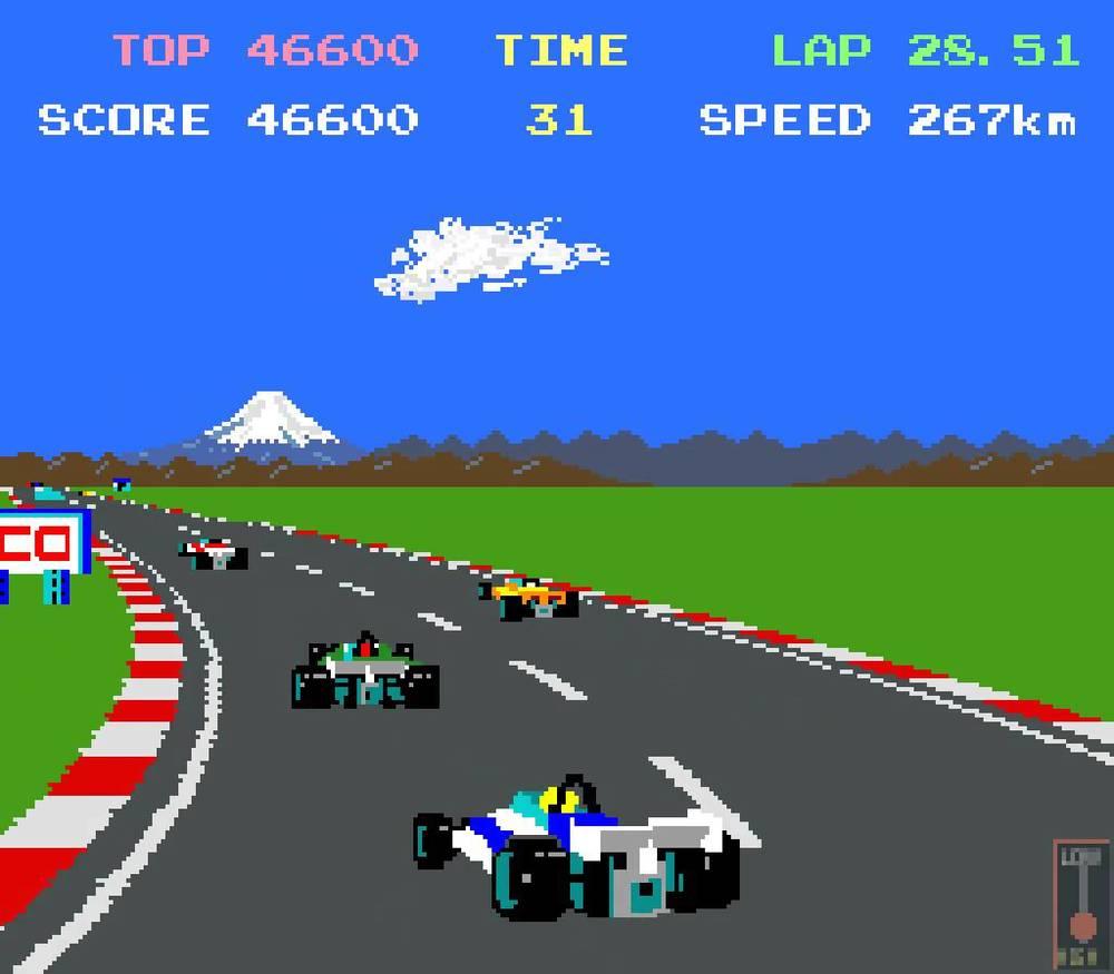 Pole Position,  Namco/Atari, 1983