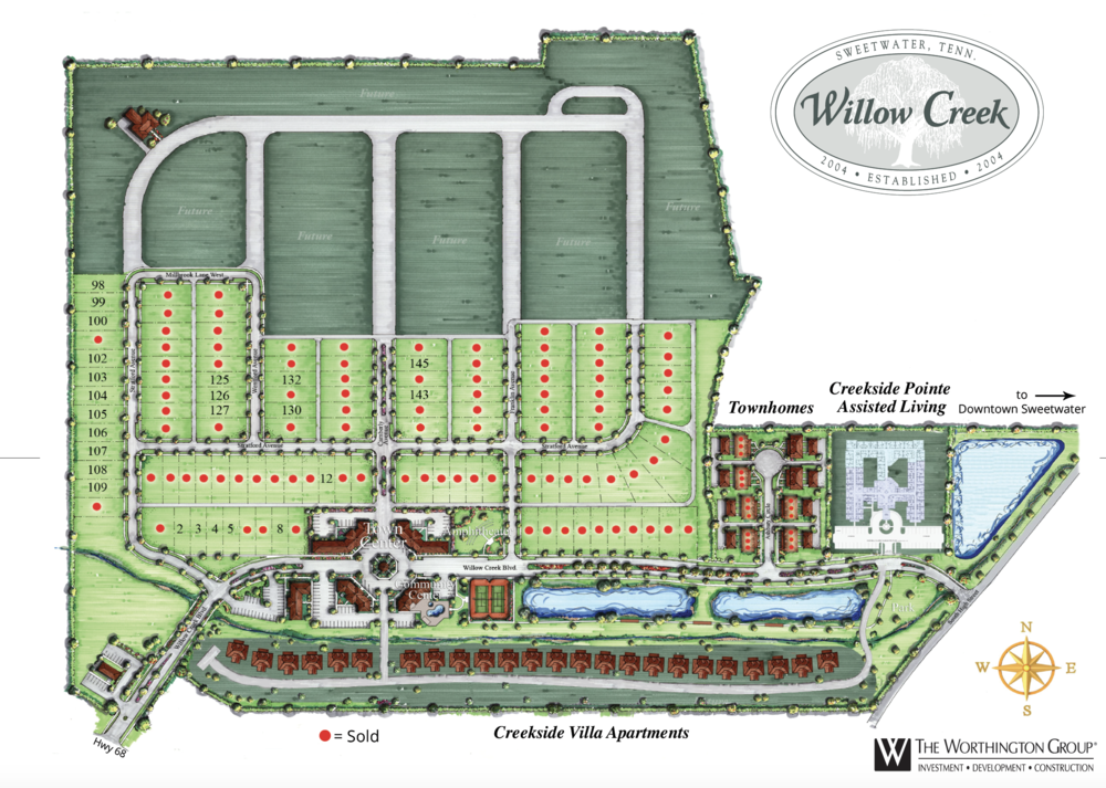 Willow Creek Site Plan