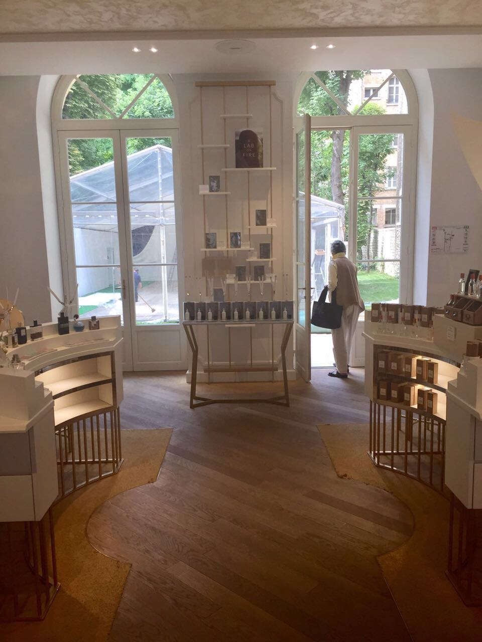 A Lab on Fire at Le Grand Musée du Parfum