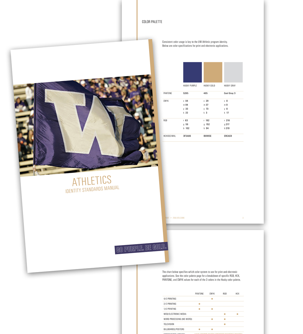 Color printing uw - Educational Brand Guidelines