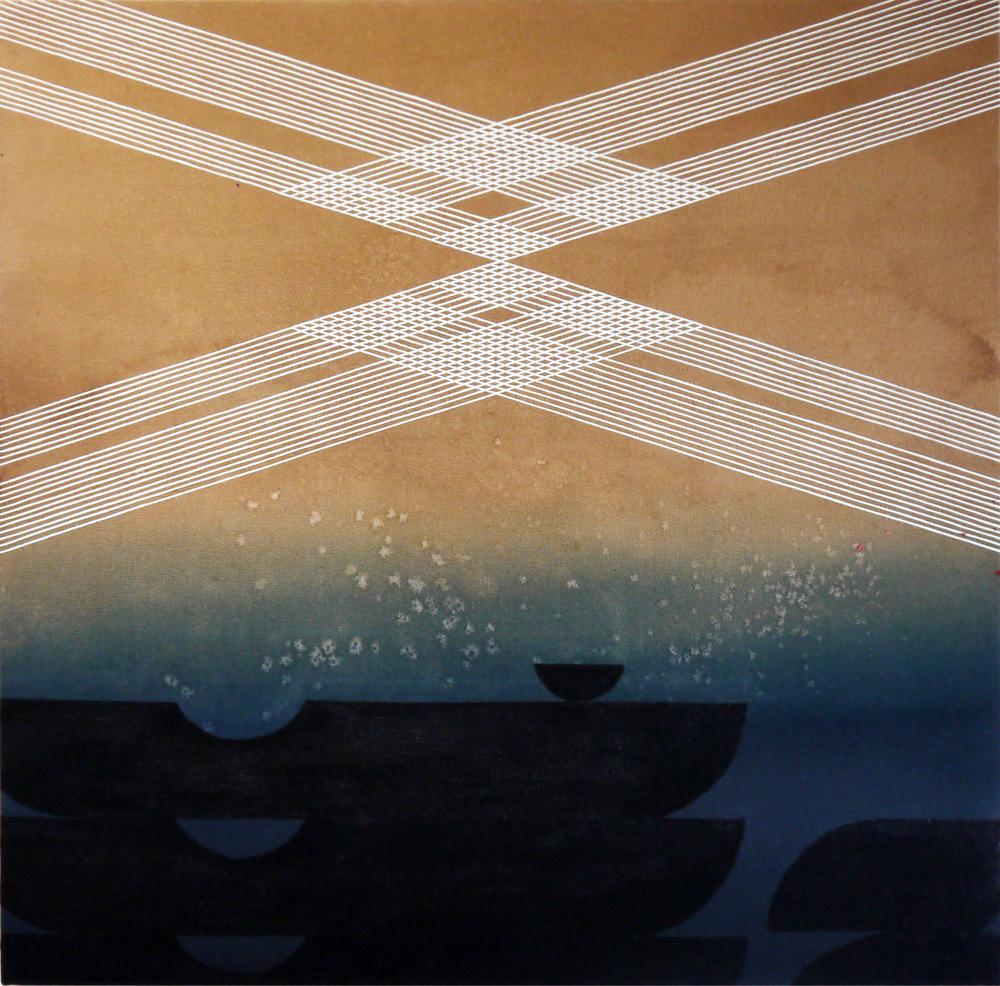 Kelly Ording_Kurofune_Acrylic on died canvas_30x30_2015.JPG