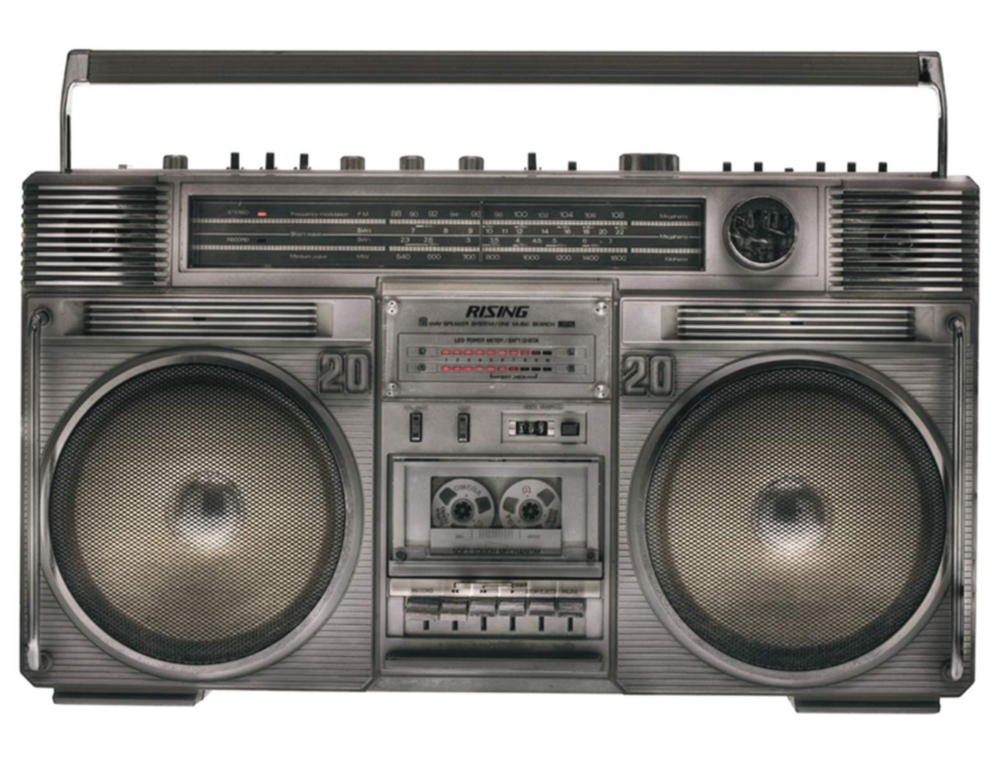 "Lyle Owerko, ""Boombox 1"" 2010. Edition of 5 + 2 AP's. Giclee on Luster fine art paper. 60 X 90."