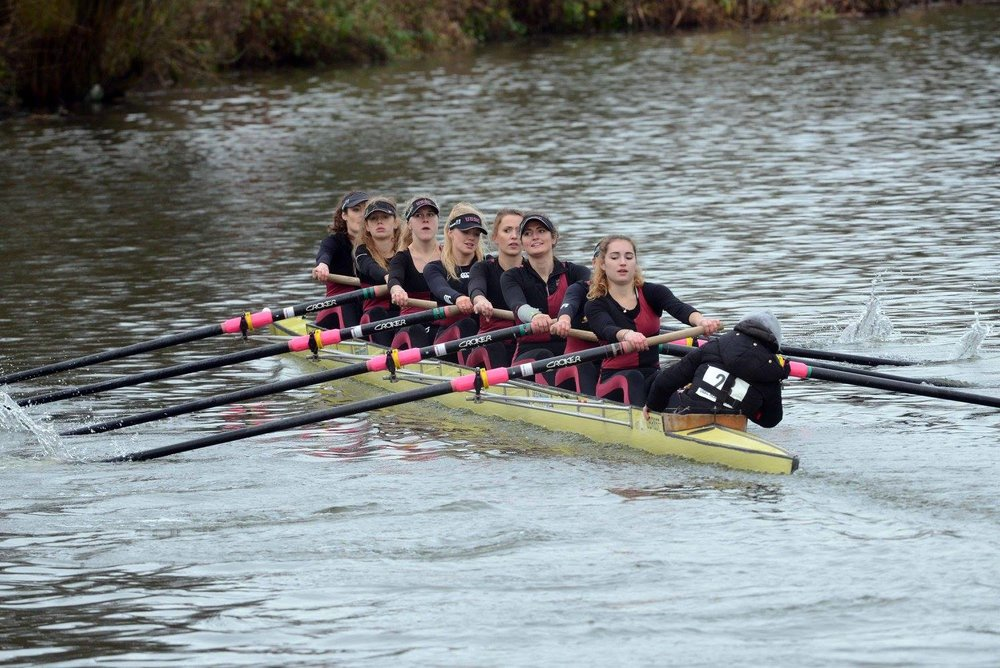 Nonesuch Women's 8, fastest Alumni Women's crew
