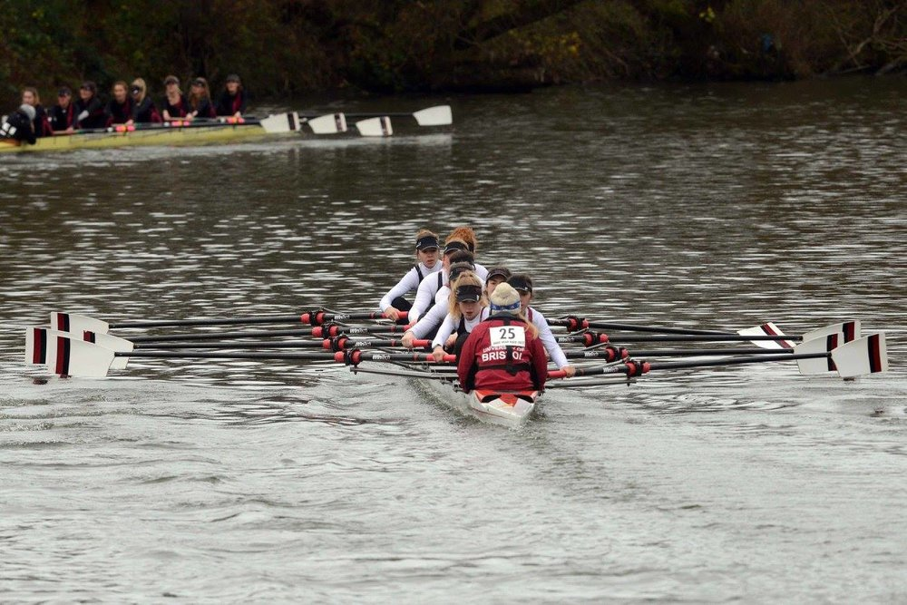 UBBC Women's 2nd 8, winners of Women's Intermediate Eights