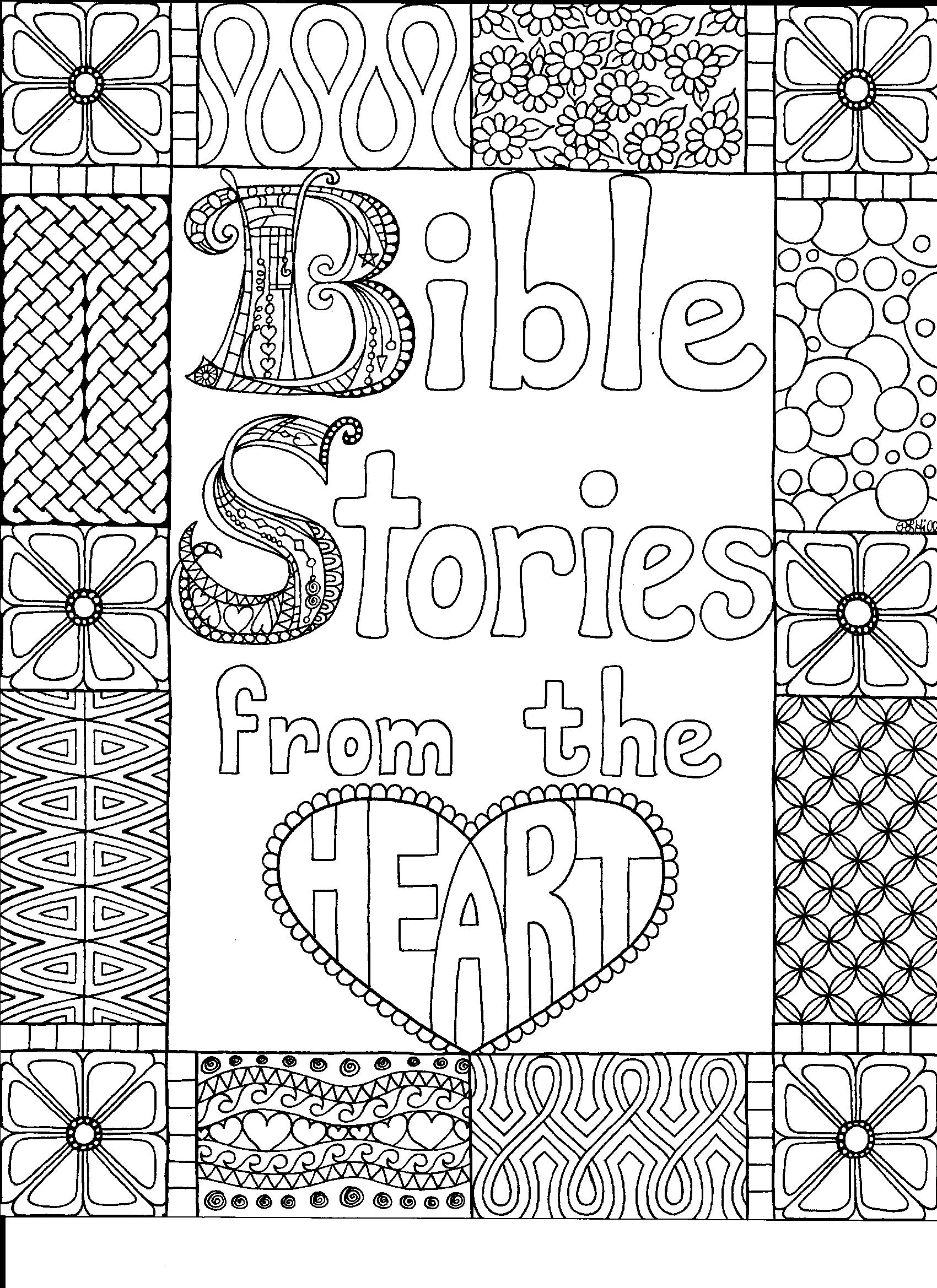 Bible Stories from the Heart Doodle