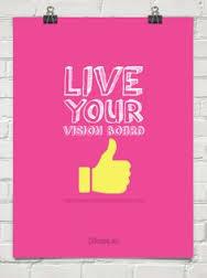 vision board pink