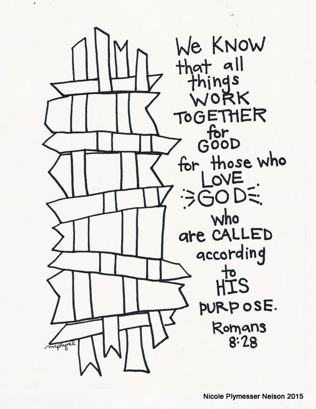they are great for framing greeting cards memorizing scripture or can be used as tip ins and book marks you should check it out - Romans 5 8 Coloring Page