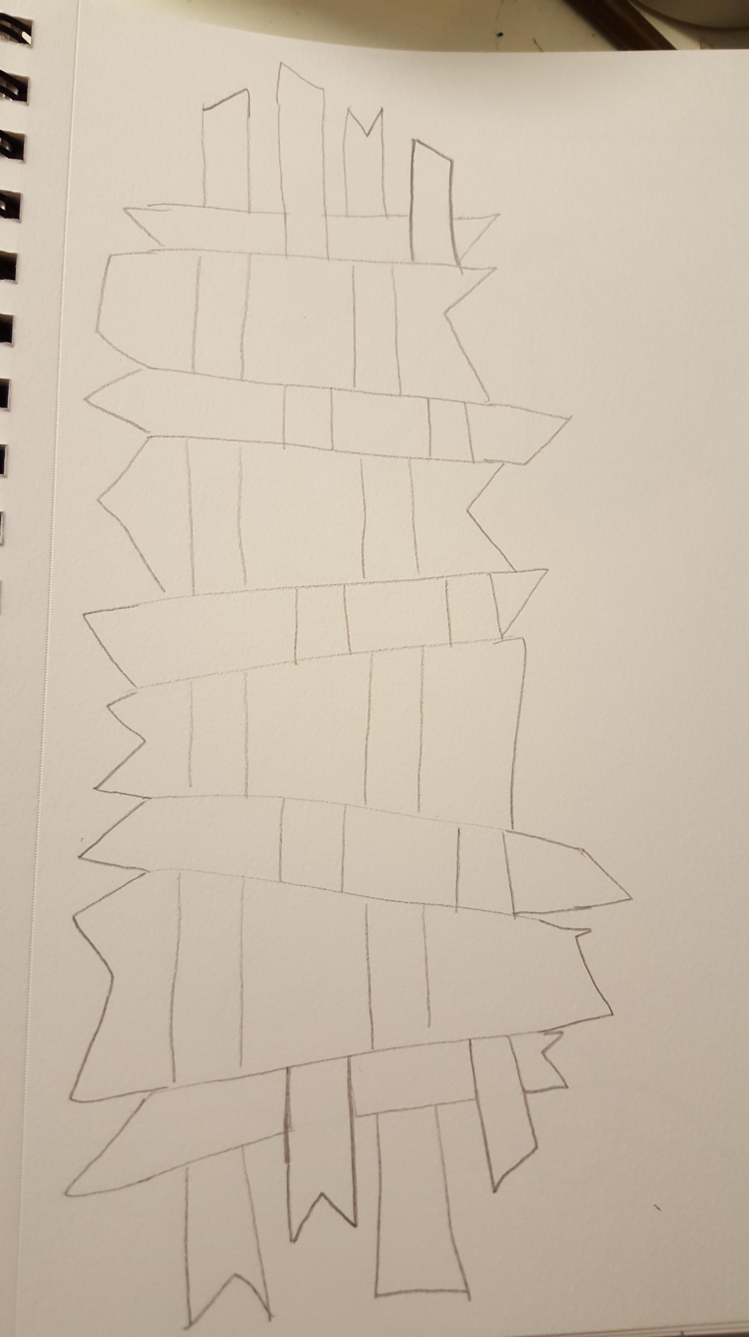 weaving outline