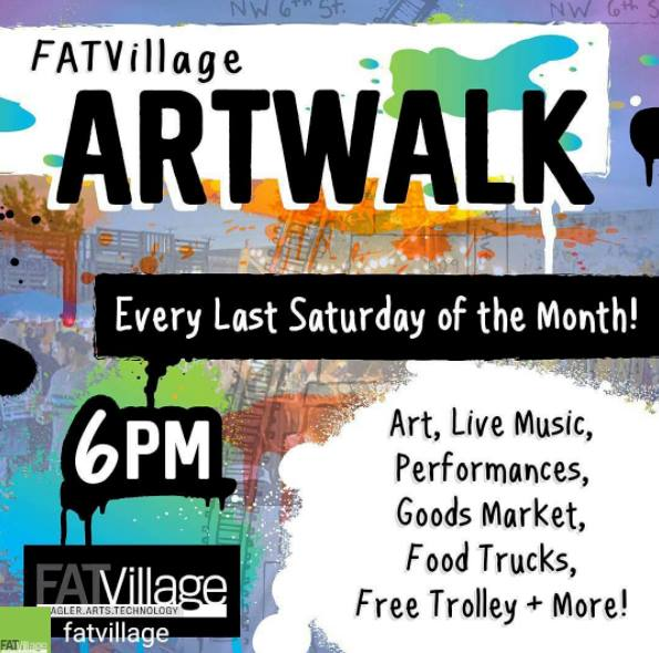 FAT Village Art Walk  / Jan 28 6-11PM