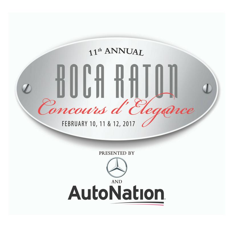 Boca Raton Concours d'Elegance/ Feb 10-12