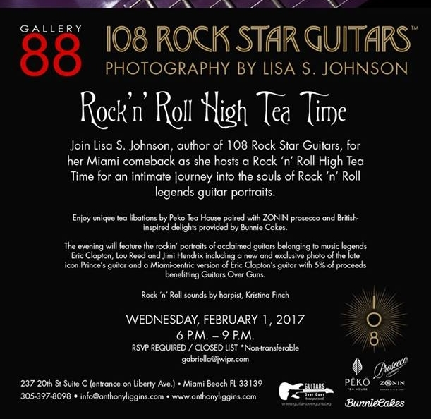 Rock n Roll High Tea Time @ Gallery 88 / (past) Feb 1 6-9PM