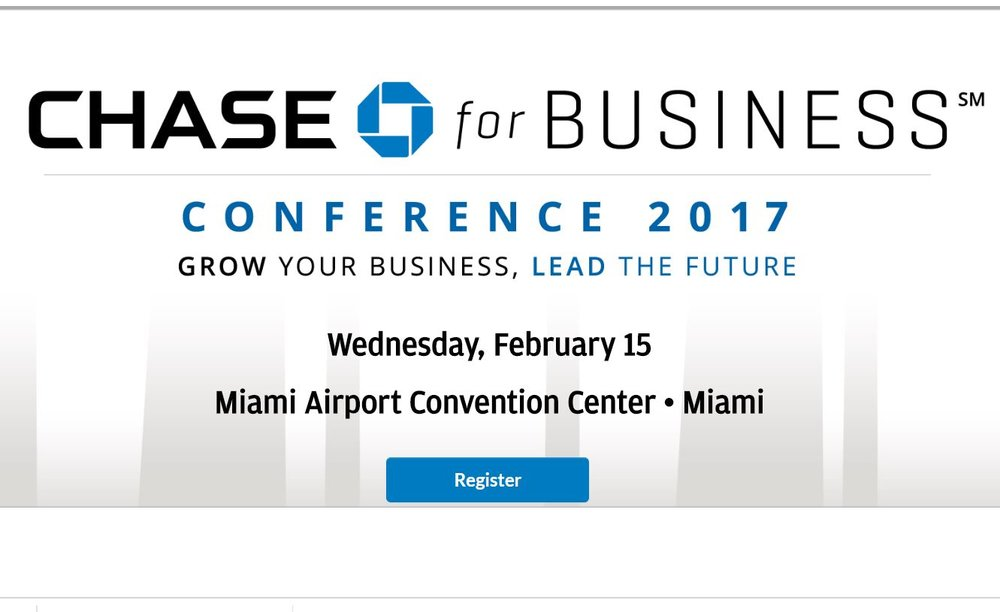 Chase For Business / Feb 15 8-5PM