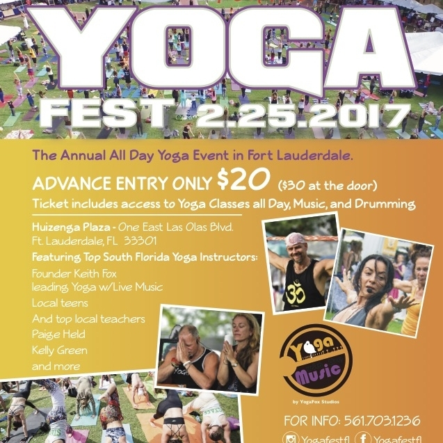 Yoga Fest / Feb 25 9AM-10PM
