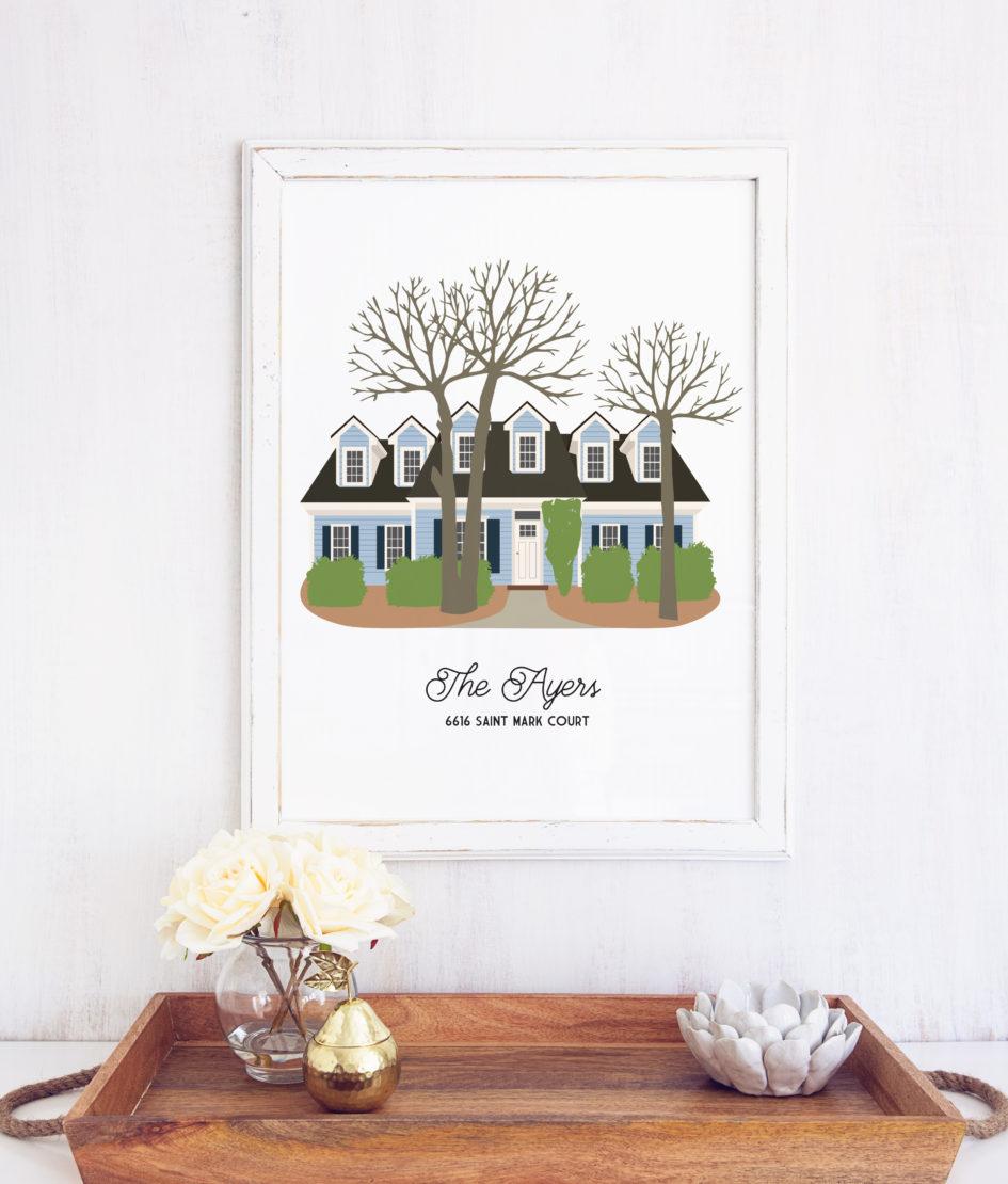 Custom New Home Print