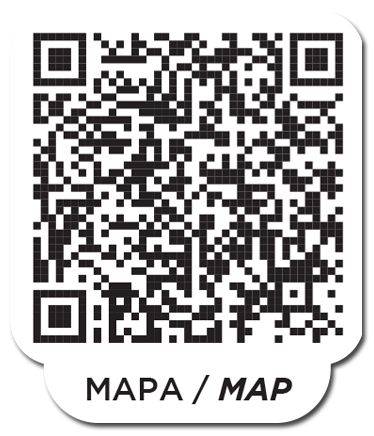 Scan the following QR code which connects to google maps to facilitate finding Casa Terraza