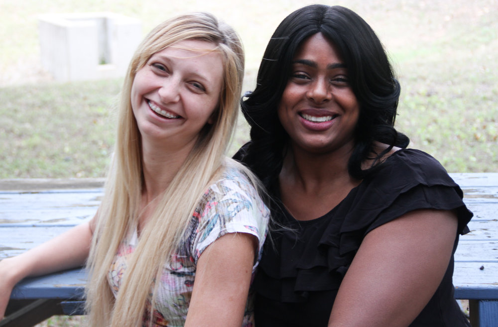 Meet Madeline. - Madeline (left), LifeWorks GED graduate pictured with LifeWorks GED Program and Services Coordinator, Ebony, took the time to tell us about her experience with our GED program. How do you feel now that you have your GED?