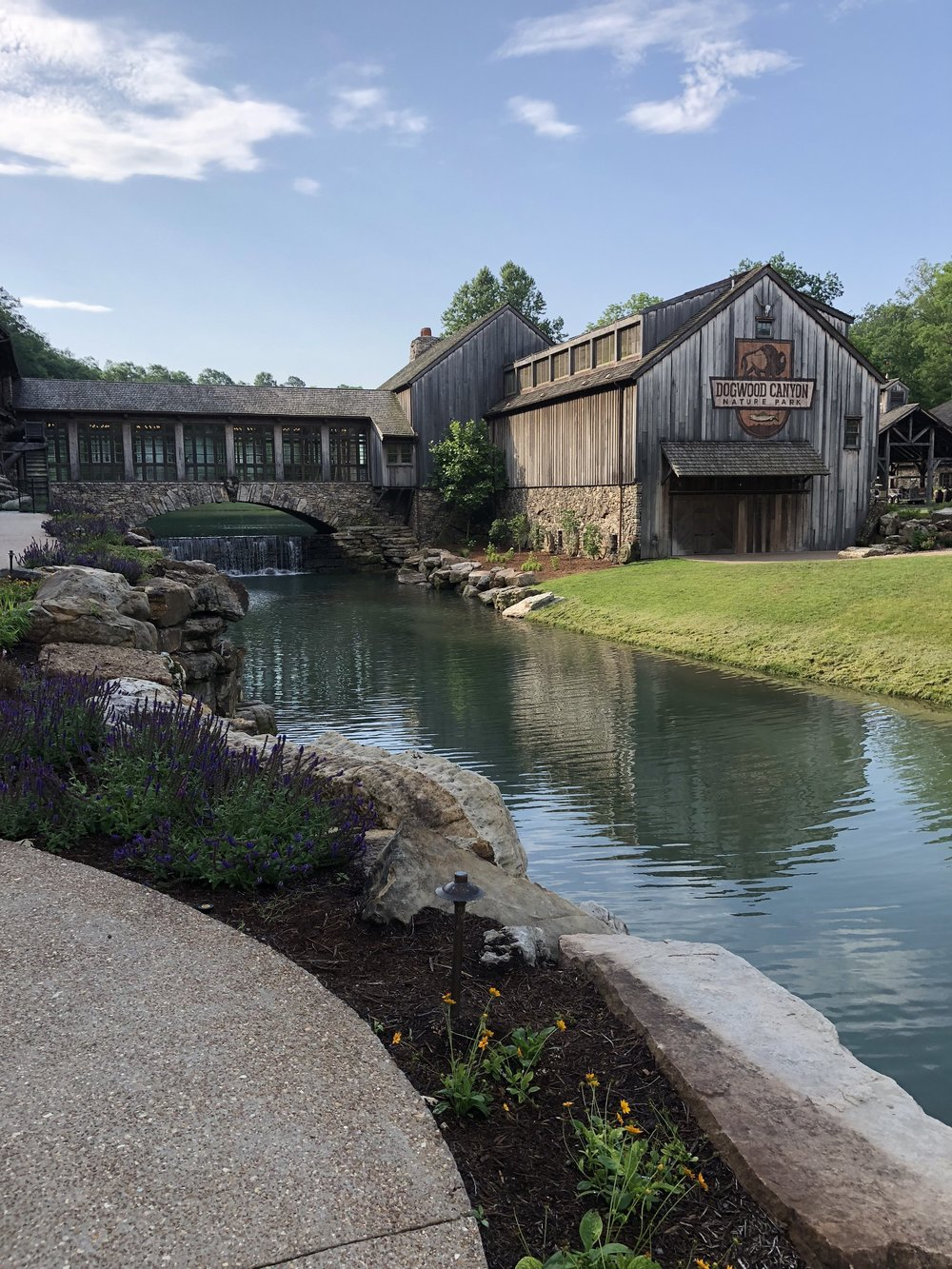 The new mill at Dogwood Canyon.