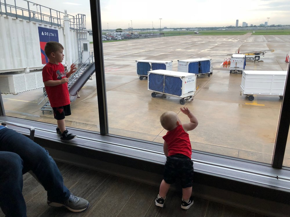 They loved the airport!