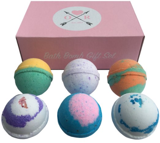 If your gal loves a good soak in the tub, these are for her! They are singularly beautiful, and packaged perfectly!