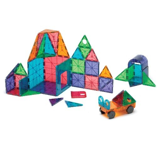 Magna-Tiles are one of the BEST ways to keep your kids entertained. There are literally endless creativity options - pretend play + creative thinking = a WIN!
