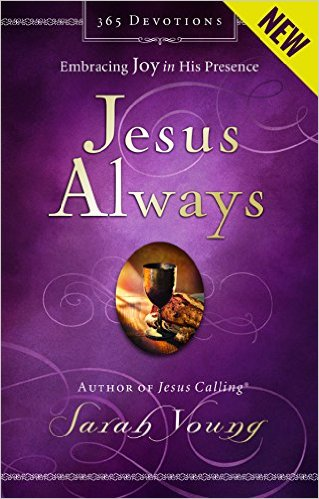 "Sarah Young has delivered so many wonderful devotionals and this is the newest addition to her line. It's been written to help us "" Experience true joy—now and always."""