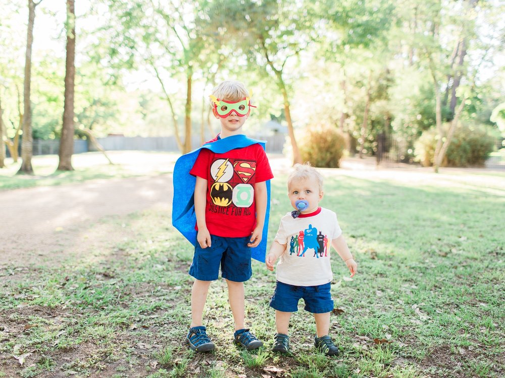 "My ""Super Boys"" ensemble can be found  here , cuteness sold separately."