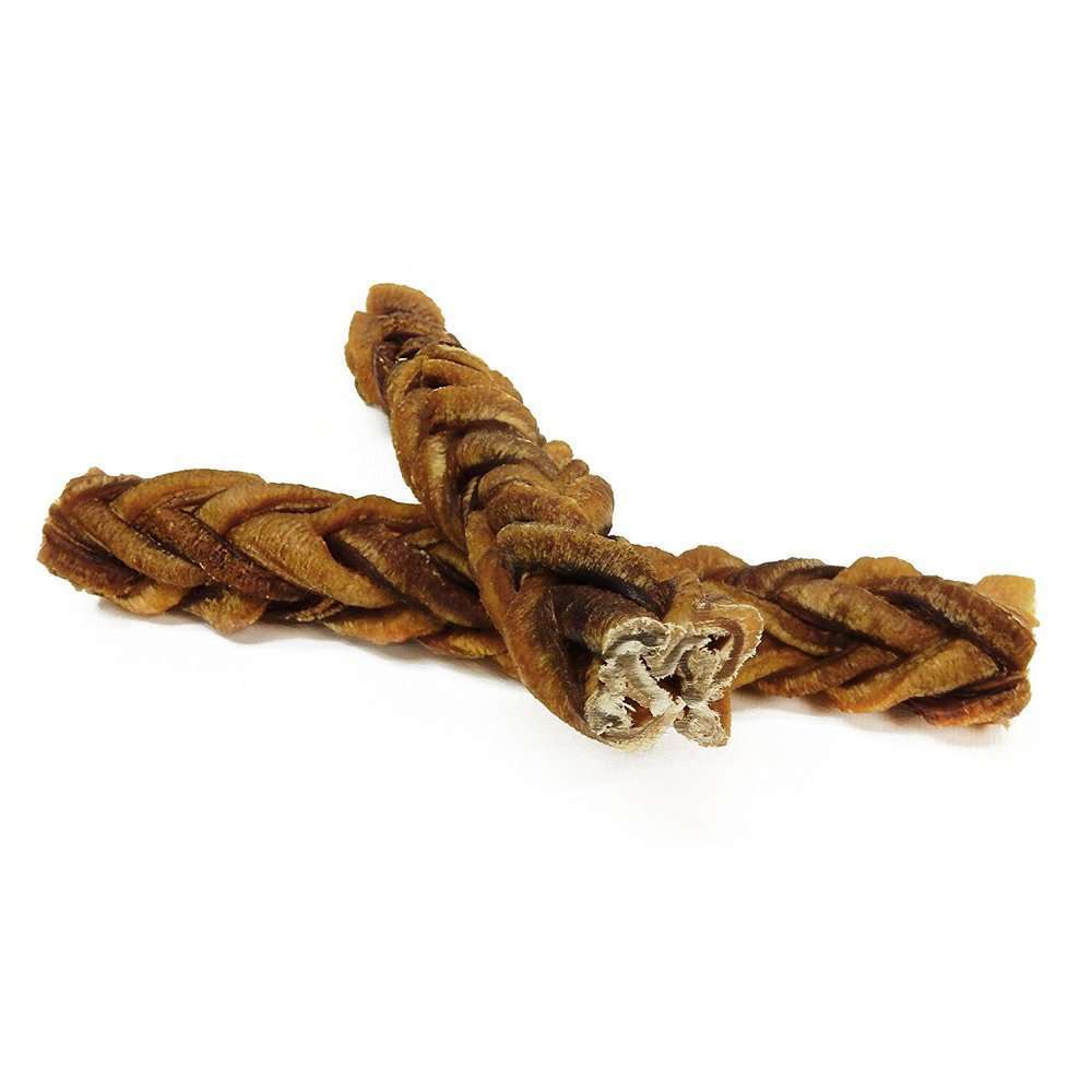 Monster bull sticks for dogs - dog treats - best dog bone - dog bone - bully stick - braided bully stick