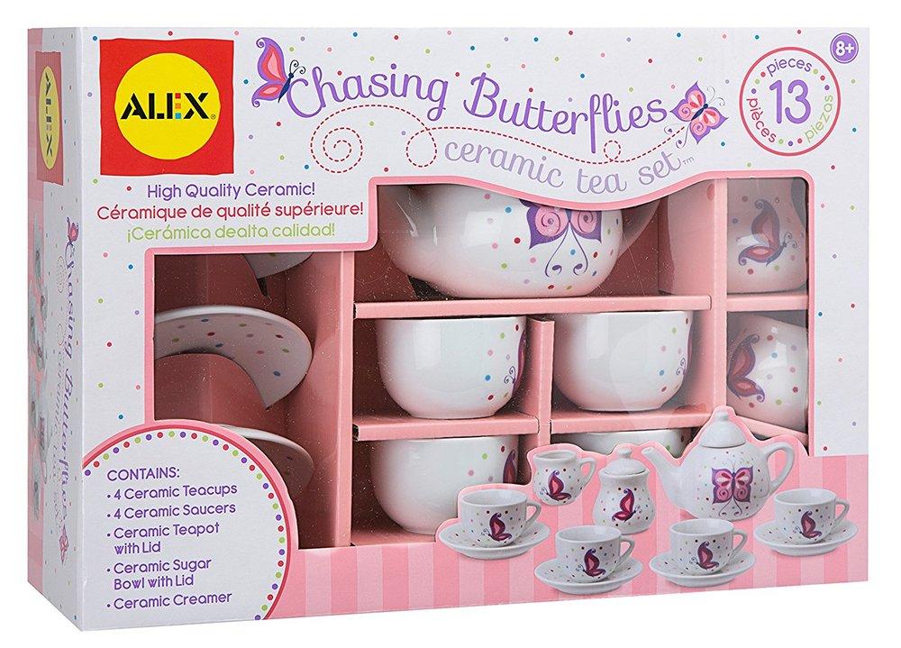 Alex Toys ceramic tea set - tea party - best toy for little girls - tea set
