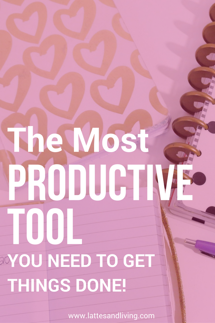 The most productive tool you need to get things done! Be more productive, get more done in the day, and relieve the anxiety of your to do list!