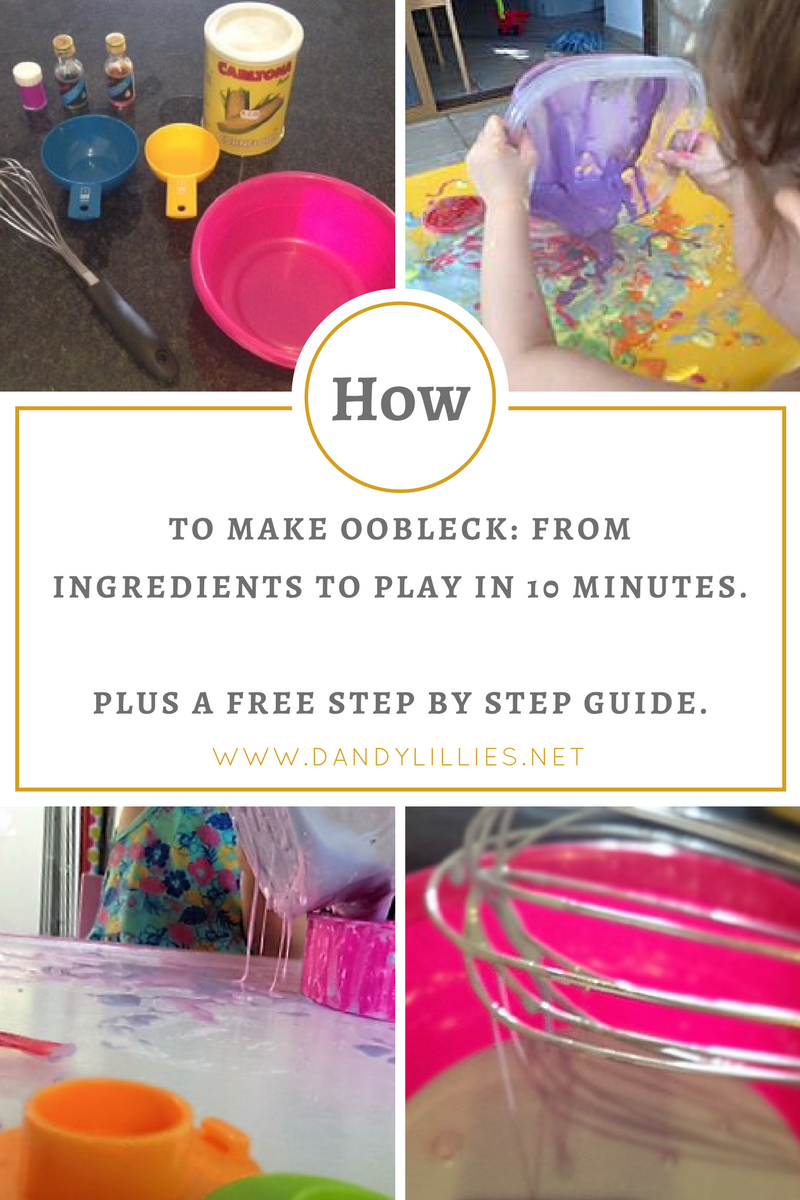 I Love Oobleck! It Is Such A Wonderfully Versatile Resource, I Incorporate  It A Lot Into Messy Play Oobleck Is Essentially Slime Slime?