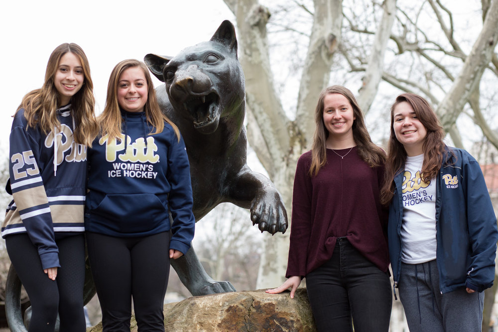 Women's Club Hockey Skates to Success - Read about the founding of our program and the motivation that has carried us through.(Photo by Thomas Yang | Visual Editor | Pitt News)