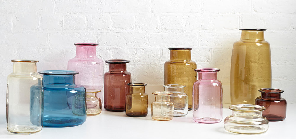 Michael Ruh Chelsea Jars at The New Craftsmen