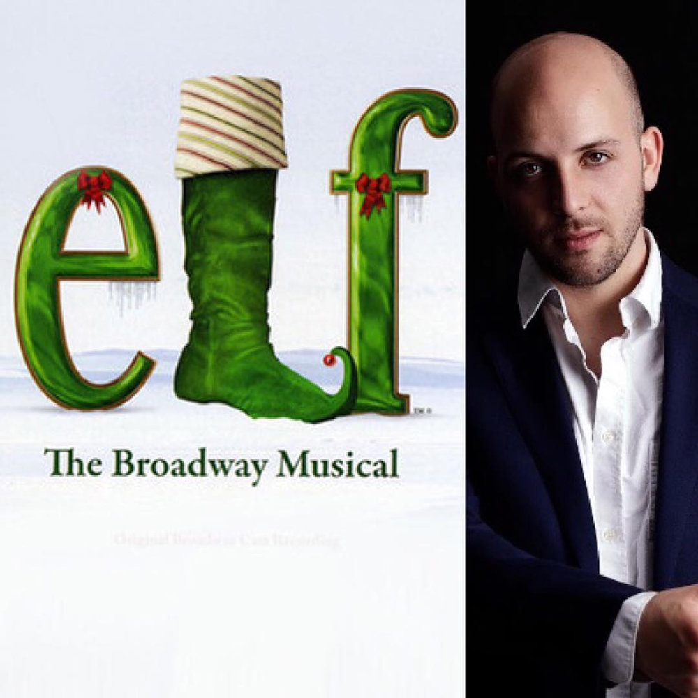 Jake McCready will be performing in Elf the Broadway Musical this holiday season!