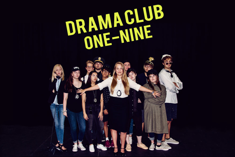 Our 2018/2019 Drama Club Officers