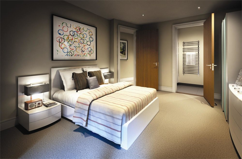 CGI Example Bedroom