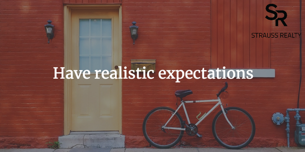 Don't let your expectations set you up for failure.
