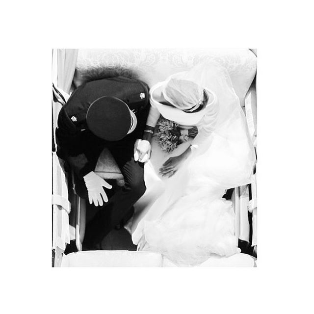 B I R D ' S  E Y E  V I E W #royalwedding #harryandmeghan 🇺🇸+🇬🇧=❤️