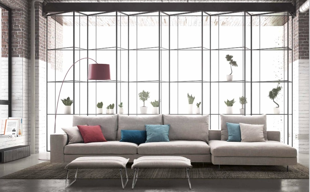 Sct 04 Italian Sectional Sofa