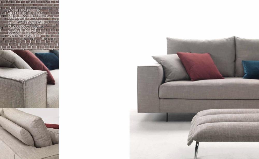 SCT 04 Modern Italian Sofa