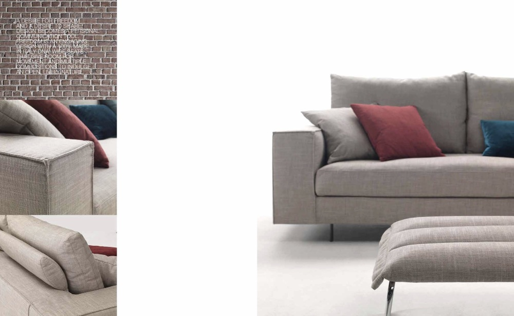 SCT 306 Italian Sectional Sofas