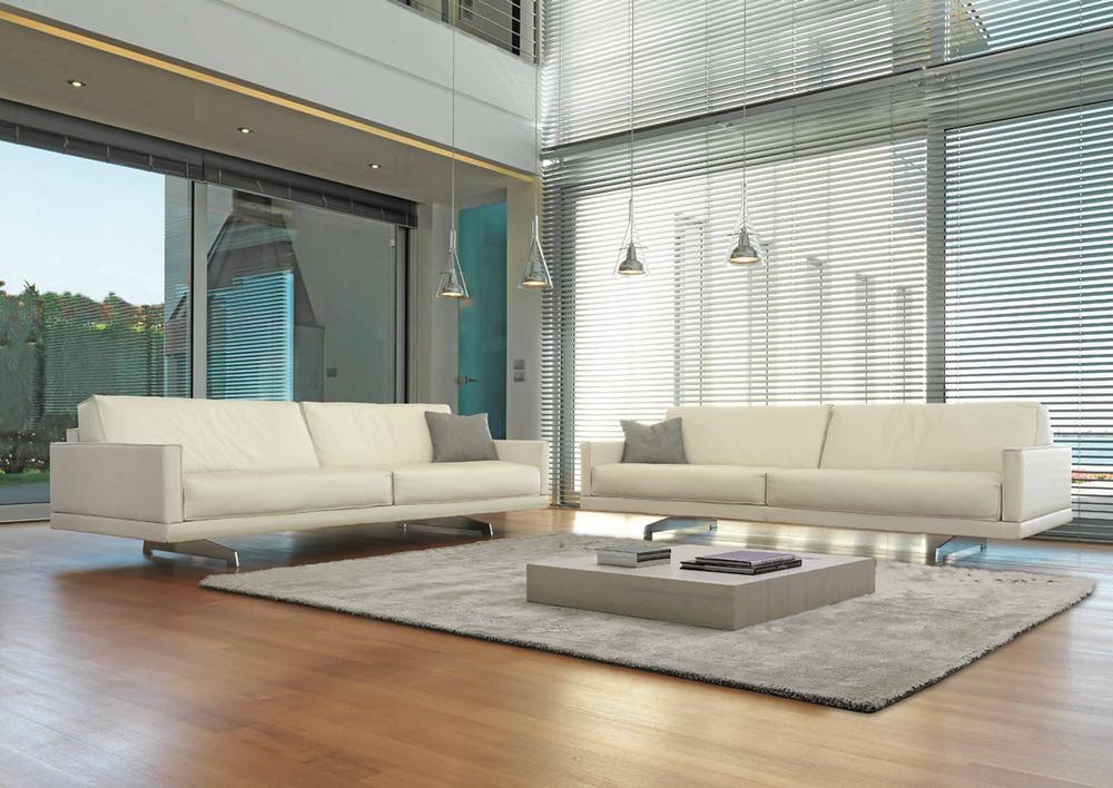 SO 09 Modern Italian Sofa narrow armrests