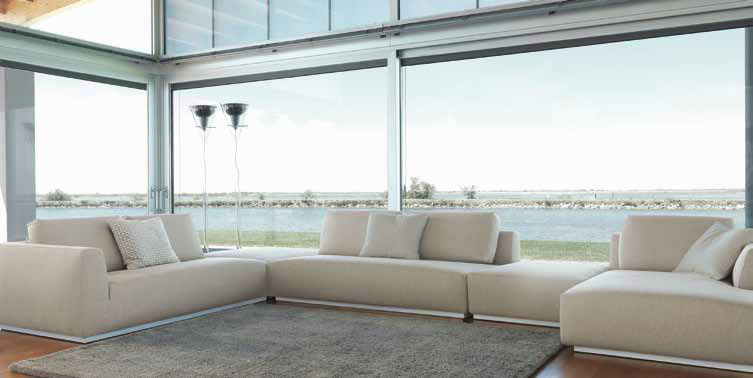 SCT 309 Italian Sectional Sofas